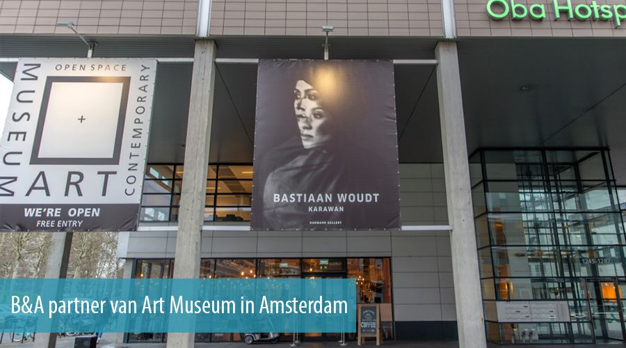 B&A partner van Art Museum in Amsterdam