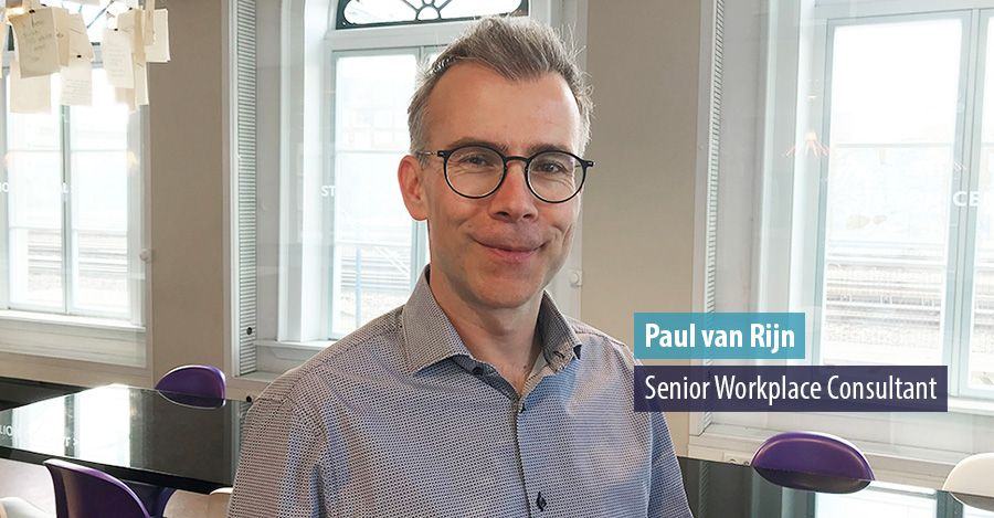 Paul van Rijn start als senior workplace consultant bij Hospitality Group