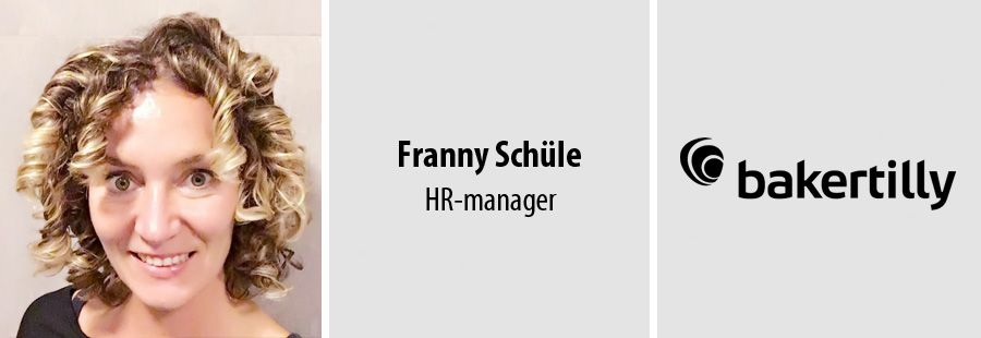 Franny Schüle over HR bij Baker Tilly