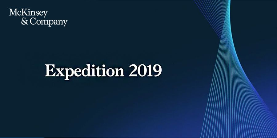 McKinsey and Company - Expedition 2019
