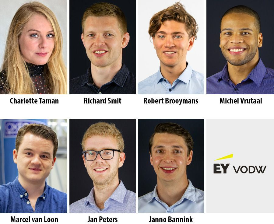 Zeven talenten starten data science traineeship van EY VODW