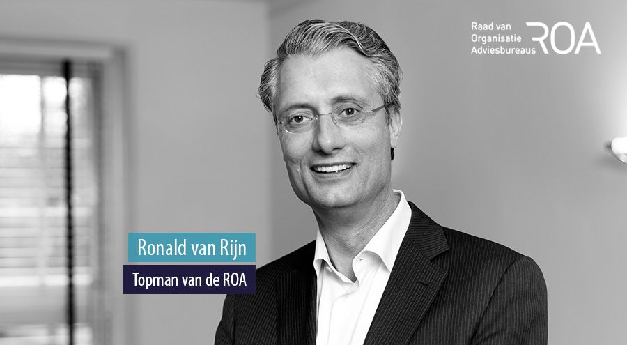 Ronald van Rijn, Topman van de ROA