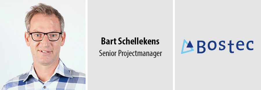 Bart Schellekens, Senior Projectmanager bij Bostec