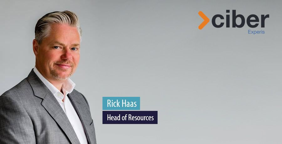 Rick Haas, Head of Resources, Experis Ciber