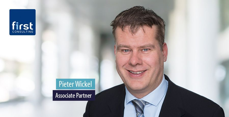 Pieter Wickel, Associate Partner bij First Consulting
