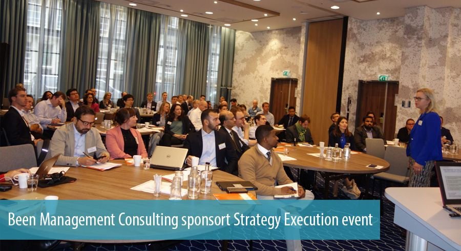 Been Management Consulting sponsort Strategy Execution event