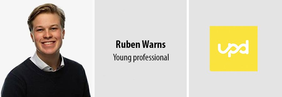 Ruben Warns, Young Professional bij UPD