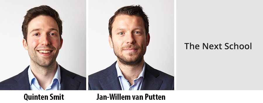 Quinten Smit en Jan-Willem van Putten - The Next School