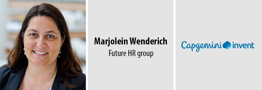 Marjolein Wenderich, Future HR group - Capgemini Invent