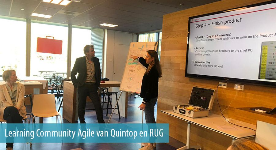 Learning Community Agile van Quintop en RUG