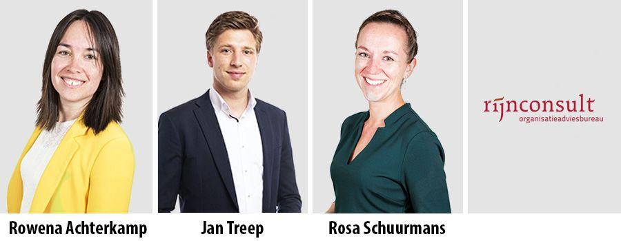 Rowena Achterkamp, Jan Treep en Rosa Schuurmans - Rijnconsult