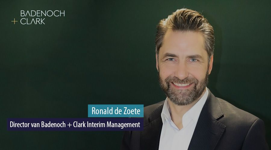 Ronald de Zoete, Director van Badenoch Clark Interim Management