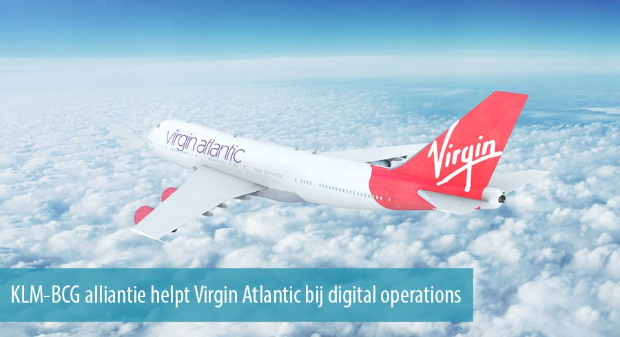 KLM-BCG alliantie helpt Virgin Atlantic bij digital operations