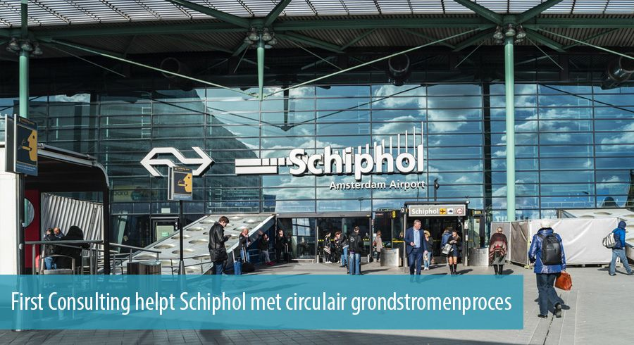 First Consulting helpt Schiphol met circulair grondstromenproces