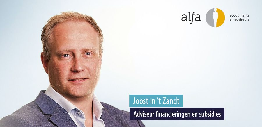 Joost in 't Zandt versterkt corporate finance team van Alfa