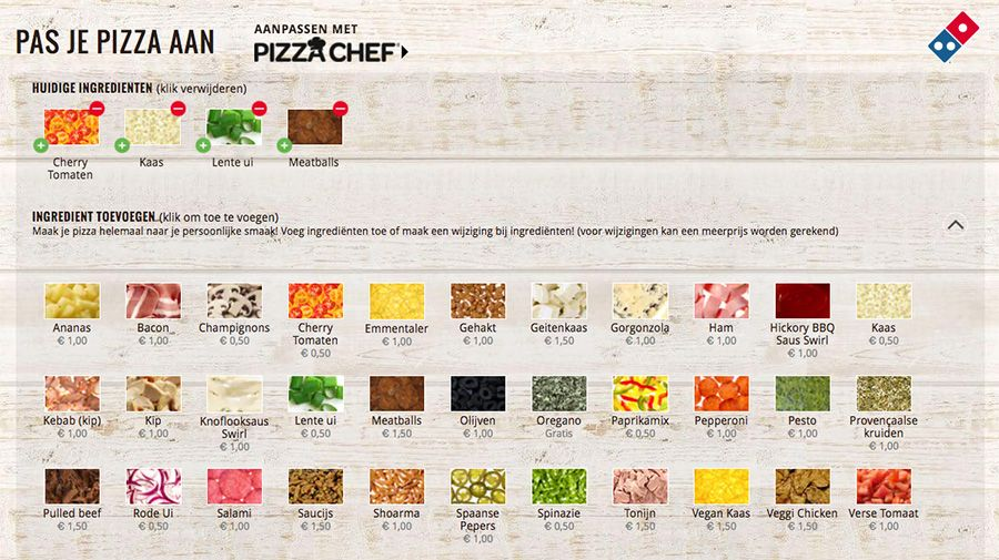 Domino's Pizza - Pizzachef