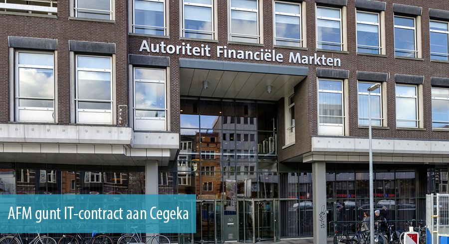 AFM gunt IT-contract aan Cegeka