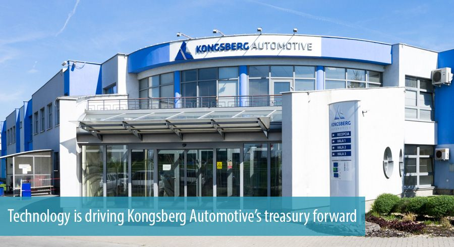Technology is driving Kongsberg Automotive's treasury forward