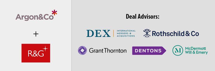 DEX en Grant Thornton begeleiden R&G Global Consultants deal
