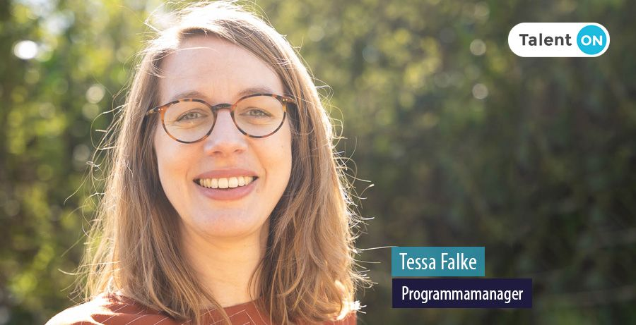 Tessa Falke, Programmamanager, Talent ON