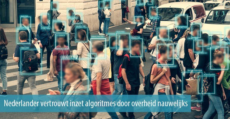 Nederlander vertrouwt inzet algoritmes door overheid nauwelijks