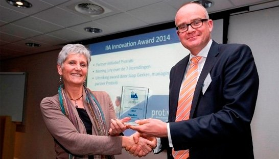Protiviti reikt Internal Audit Innovation Award 2014 uit