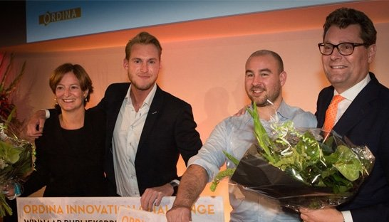 Twee innovators winnen Ordina Innovation Challenge