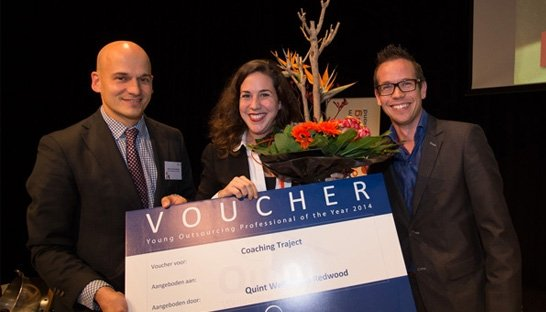 Quint: Odile de Vito wint Young Outsourcing Professional
