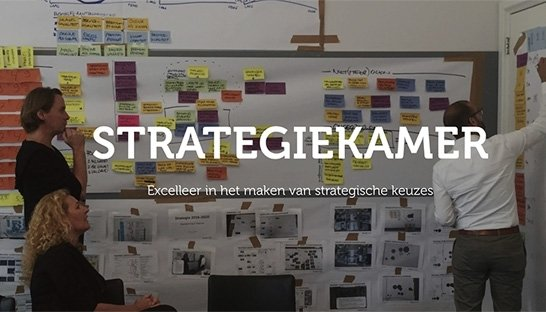 Thaesis start de Strategiekamer: omgeving voor strategiecreatie