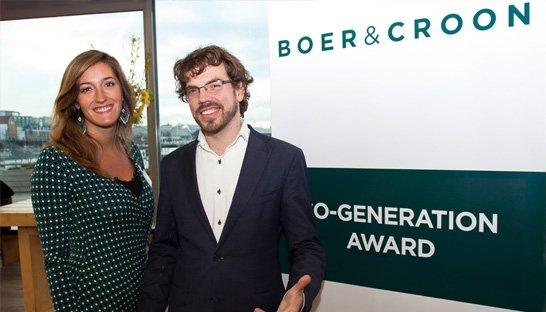 Active Cues wint Boer & Croon Co-generation Award