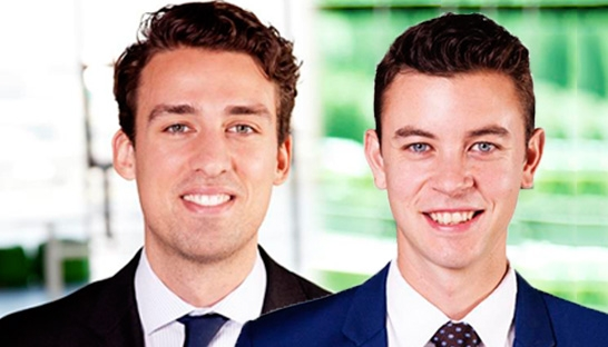 Ian Witvliet en Alex Crick Young Executives bij Boer & Croon