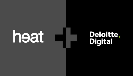 deloitte digital neemt creatief digitaal bureau heat over. Black Bedroom Furniture Sets. Home Design Ideas