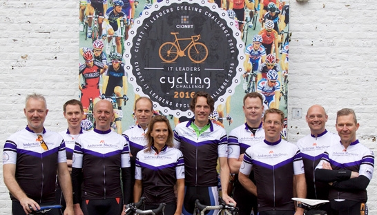Anderson MacGyver medesponsor 6de IT Leaders Cycling Challenge