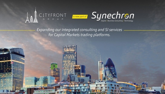 Synechron koopt capital markets specialist Cityfront Group