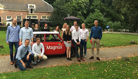 New hires bootcamp van Magnus: 3 dagen training en fun
