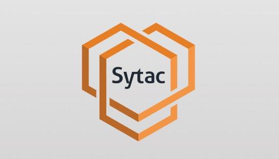 nieuw logo voor it consultancybureau sytac uit haarlem. Black Bedroom Furniture Sets. Home Design Ideas