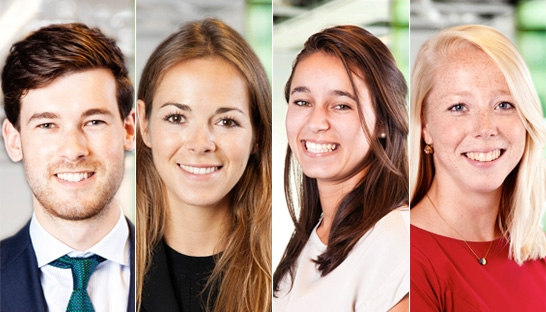Vier young professionals versterken Boer & Croon Management