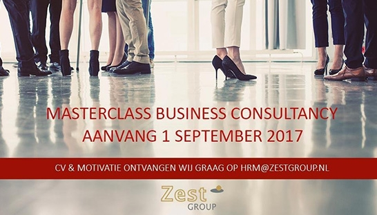 Jeroen Geurtsen over de Zestgroup Masterclass Business Consultancy