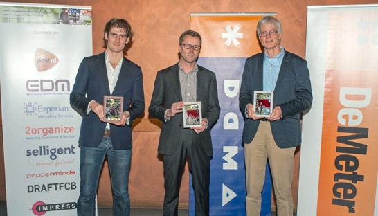 Paul Postma wint Dialogue Marketing Oeuvre Prijs