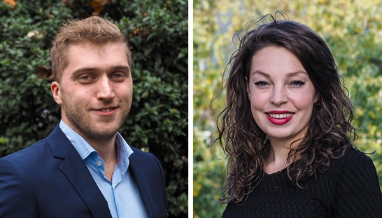 Olivier Wouters en Winnie Brouns over het Skyscrapers traineeship