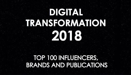 Consultancy.uk in top 100 nieuwsplatformen over digitale transformaties