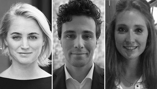 Drie young professionals gestart bij Boer & Croon Management