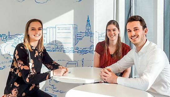 Young Professionals van Improven over hun opdracht in de bankensector