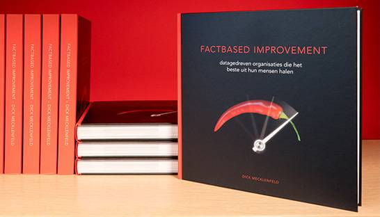Boek Factbased Improvement bundelt lessons learned in performanceverbetering