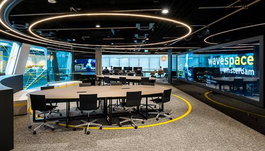 EY lanceert wavespace centrum en propositie in Amsterdam