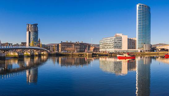 PA Consulting Group opent digitaal centrum in Belfast, Noord-Ierland