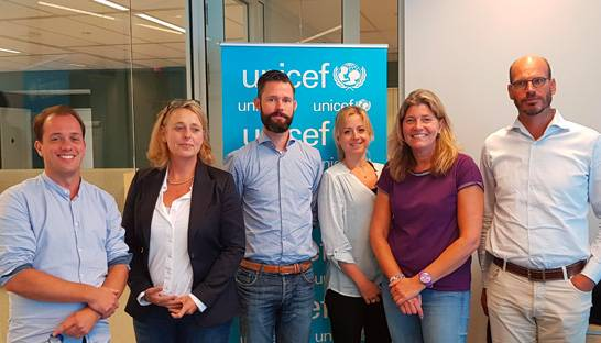 Gwynt zet zich pro bono in voor Unicef, War Child en Save the Children