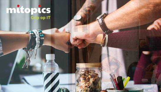Mitopics levert bijdrage aan events voor inkopers en IT-beslissers