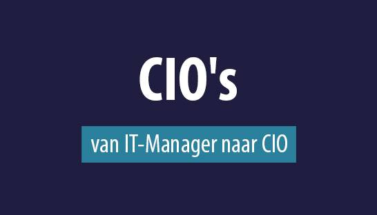 CIO's over de stap van IT-Manager naar Chief Information Officer