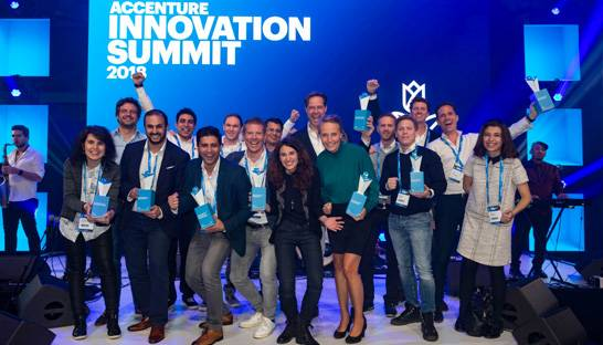 Acht veelbelovende startups winnen Accenture Innovation Award